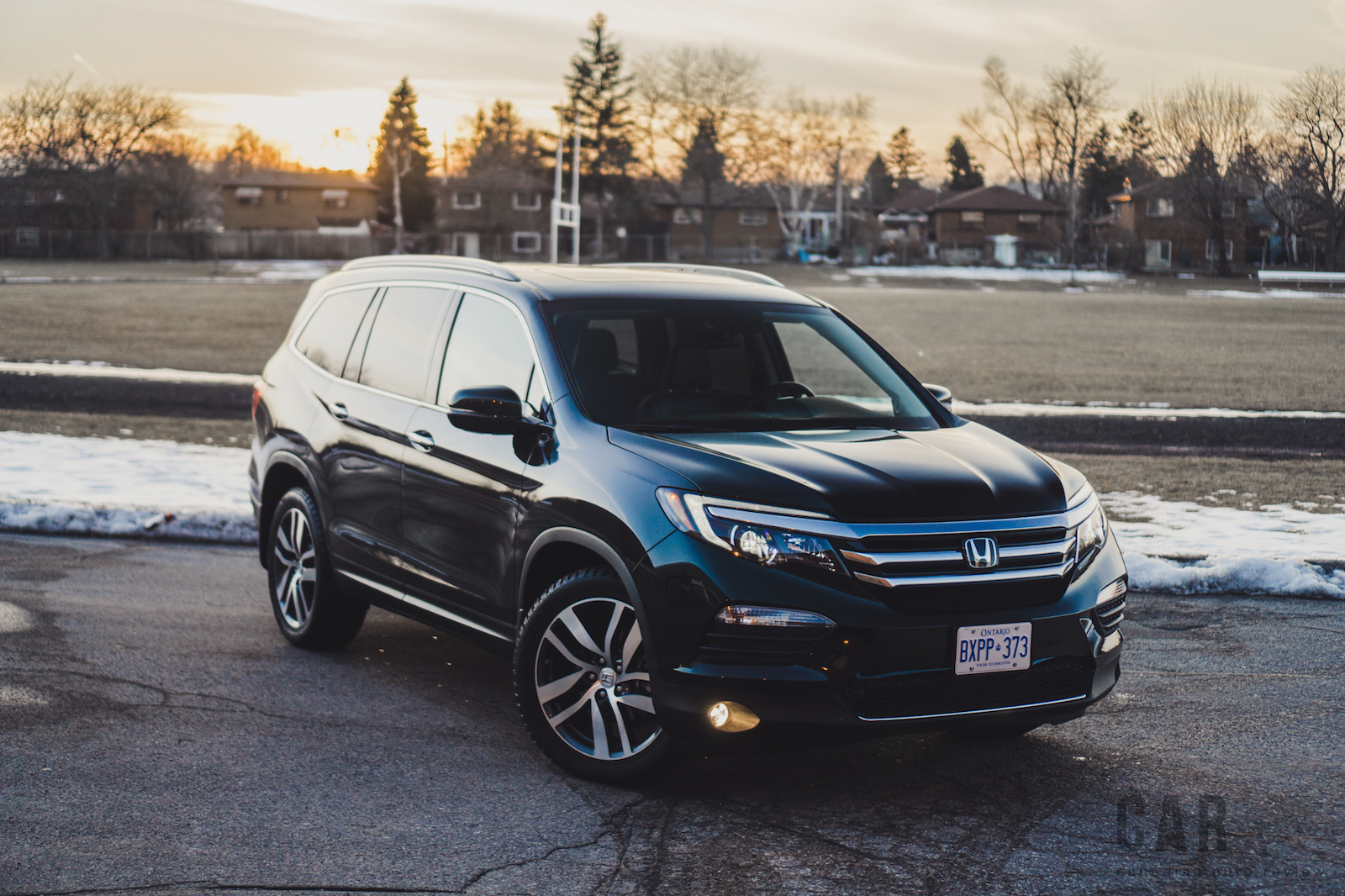review 2016 honda pilot touring canadian auto review