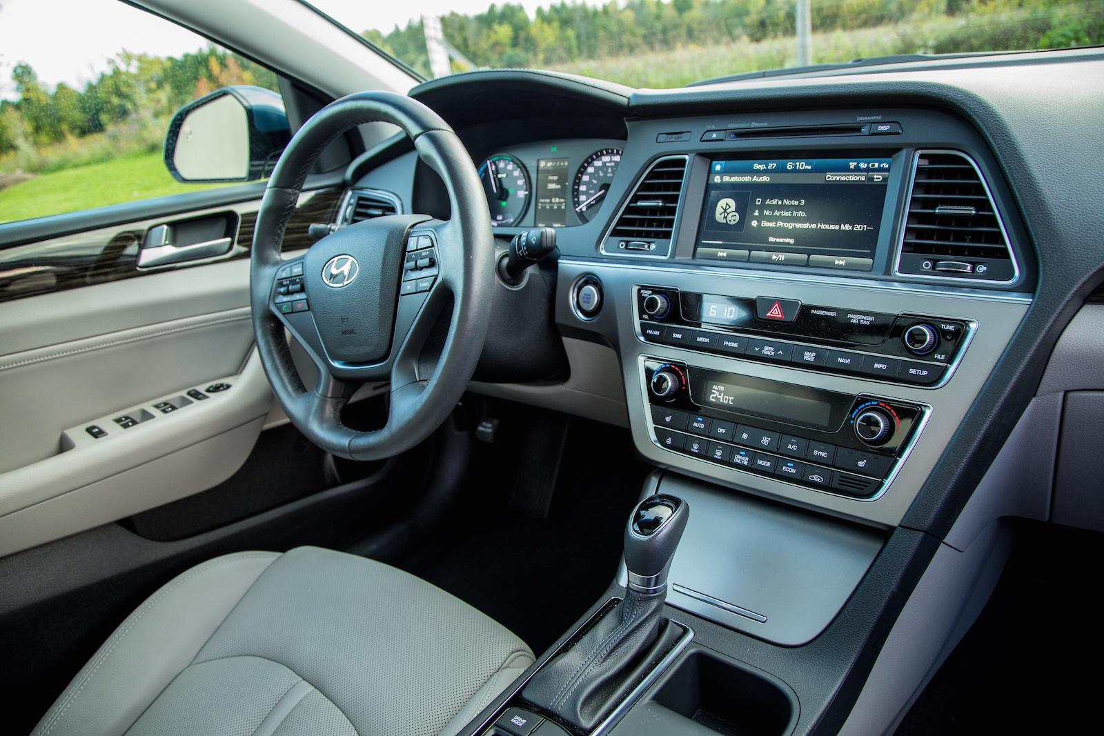 Review 2016 Hyundai Sonata Hybrid Canadian Auto Review