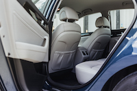 Hyundai Sonata Plug-in Hybrid rear seats