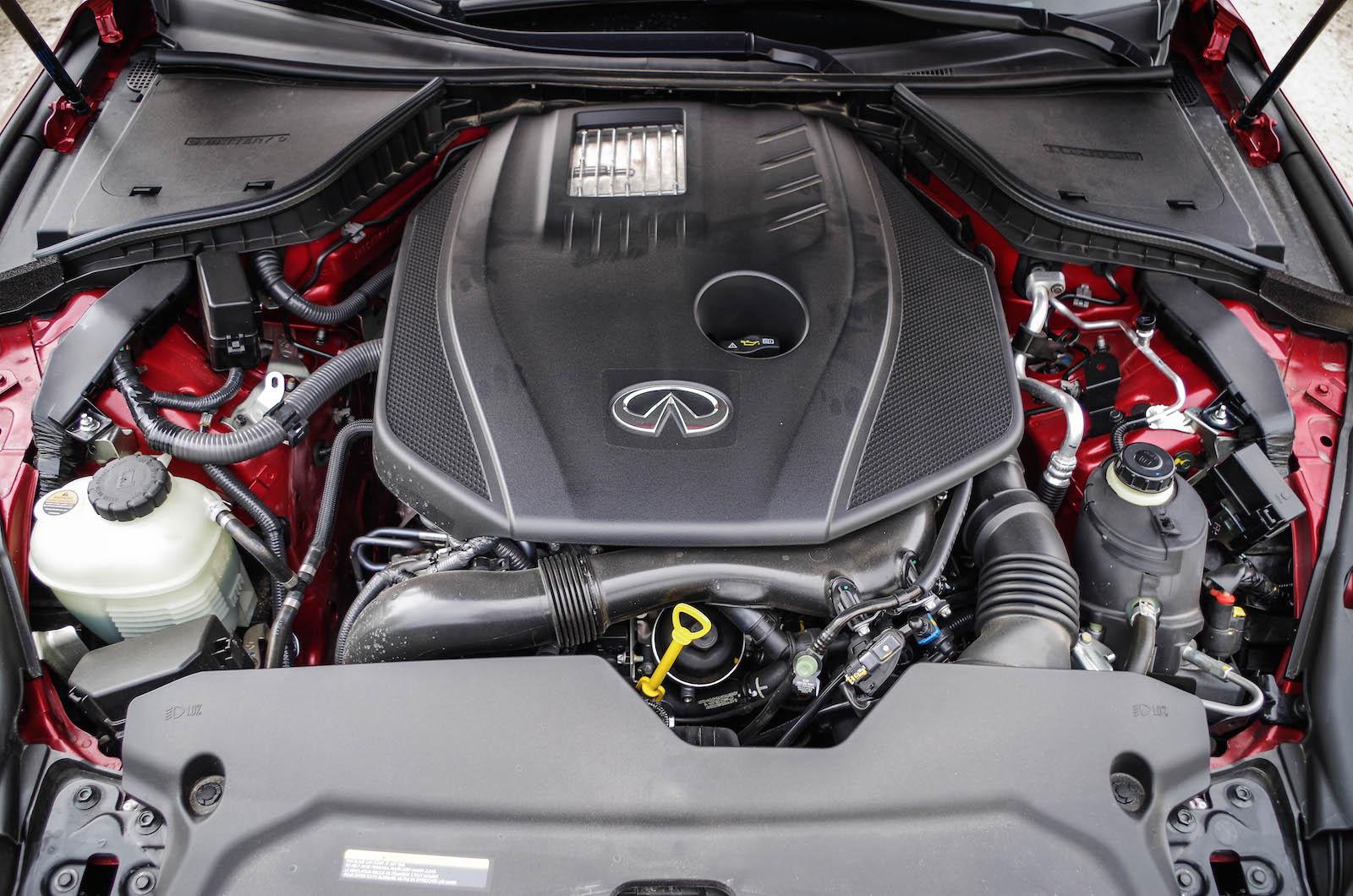 Infiniti q50s engine