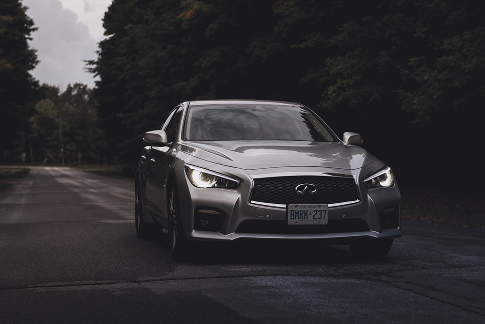 Infiniti Q50 Red Sport 400 AWD canada review