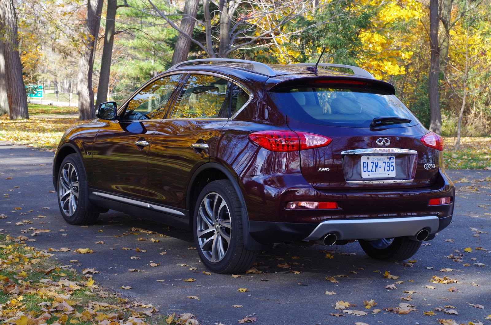 review 2016 infiniti qx50 canadian auto review. Black Bedroom Furniture Sets. Home Design Ideas