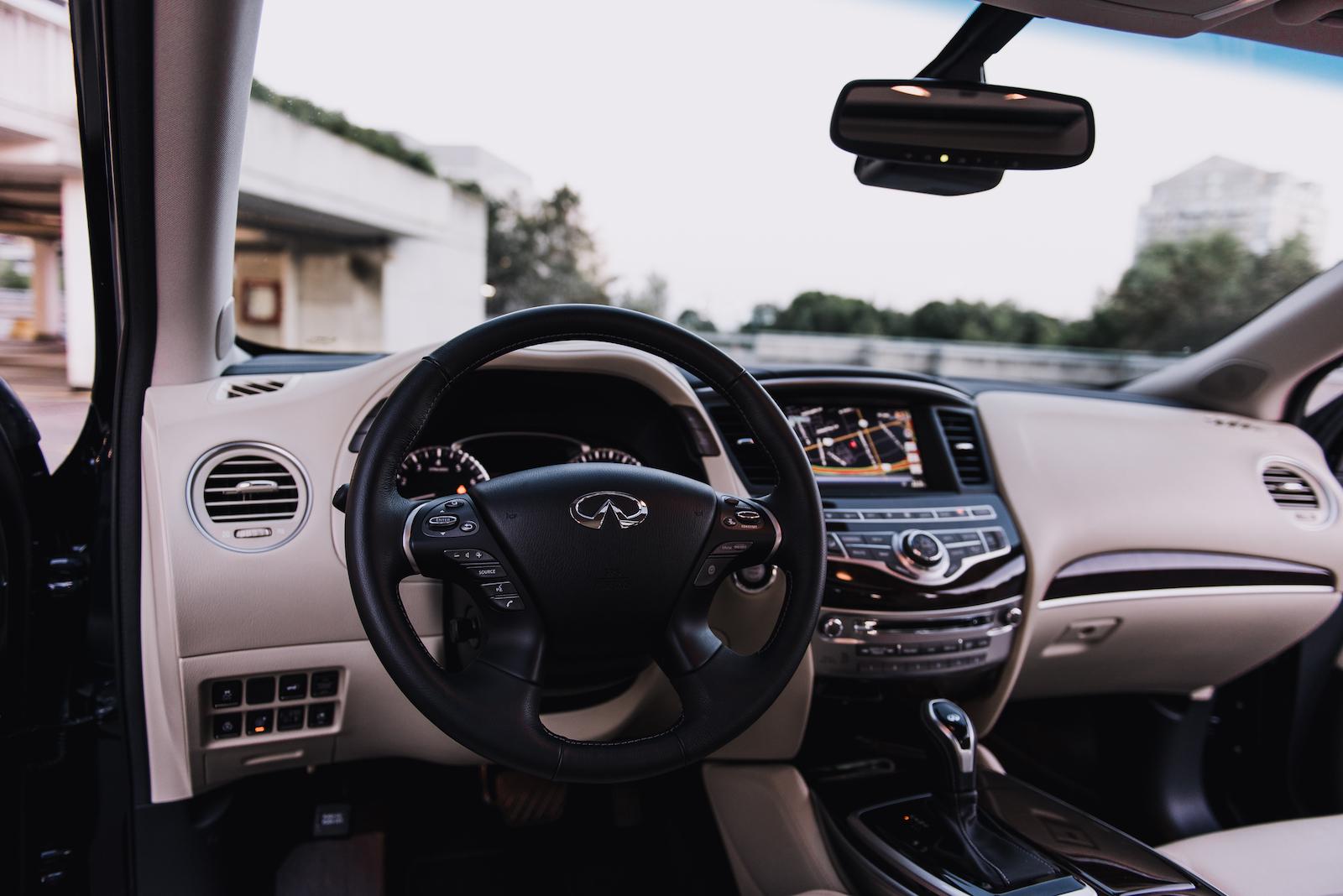 2016 Infiniti QX60 Interior White Black ...