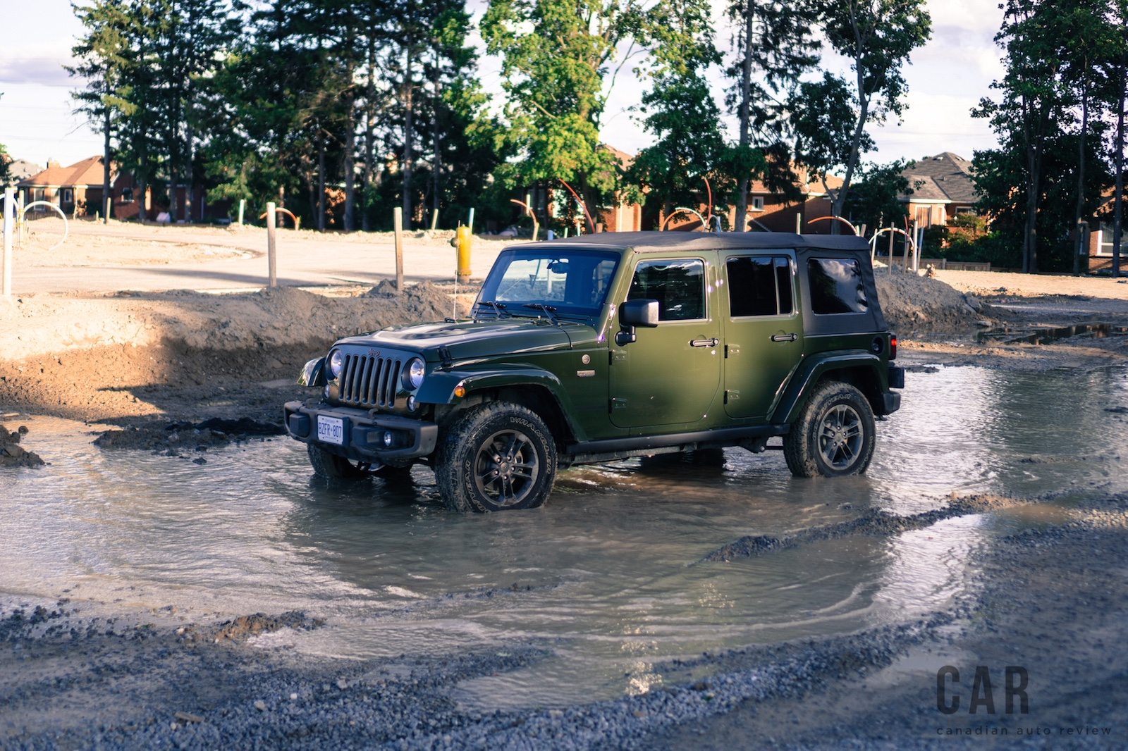 Review 2016 Jeep Wrangler 75th Anniversary   Canadian ...