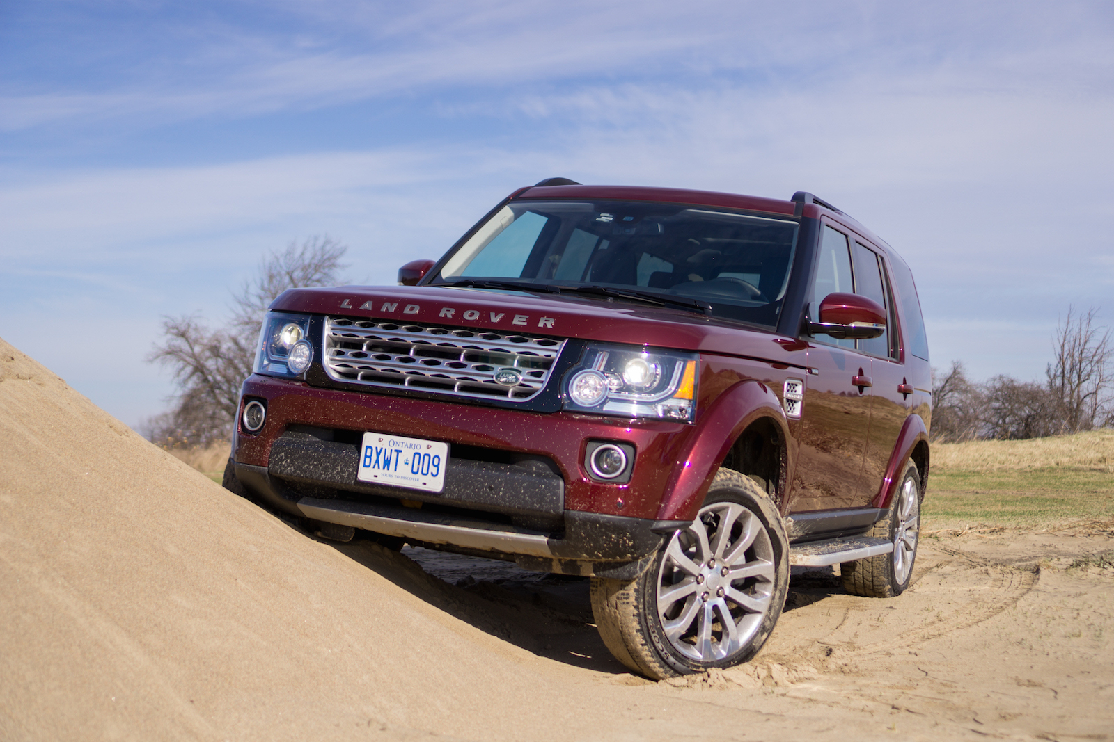 hse lux auto land landrover review rover lr scoffs story at money snow