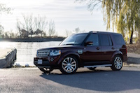 lr4 hse luxury red paint