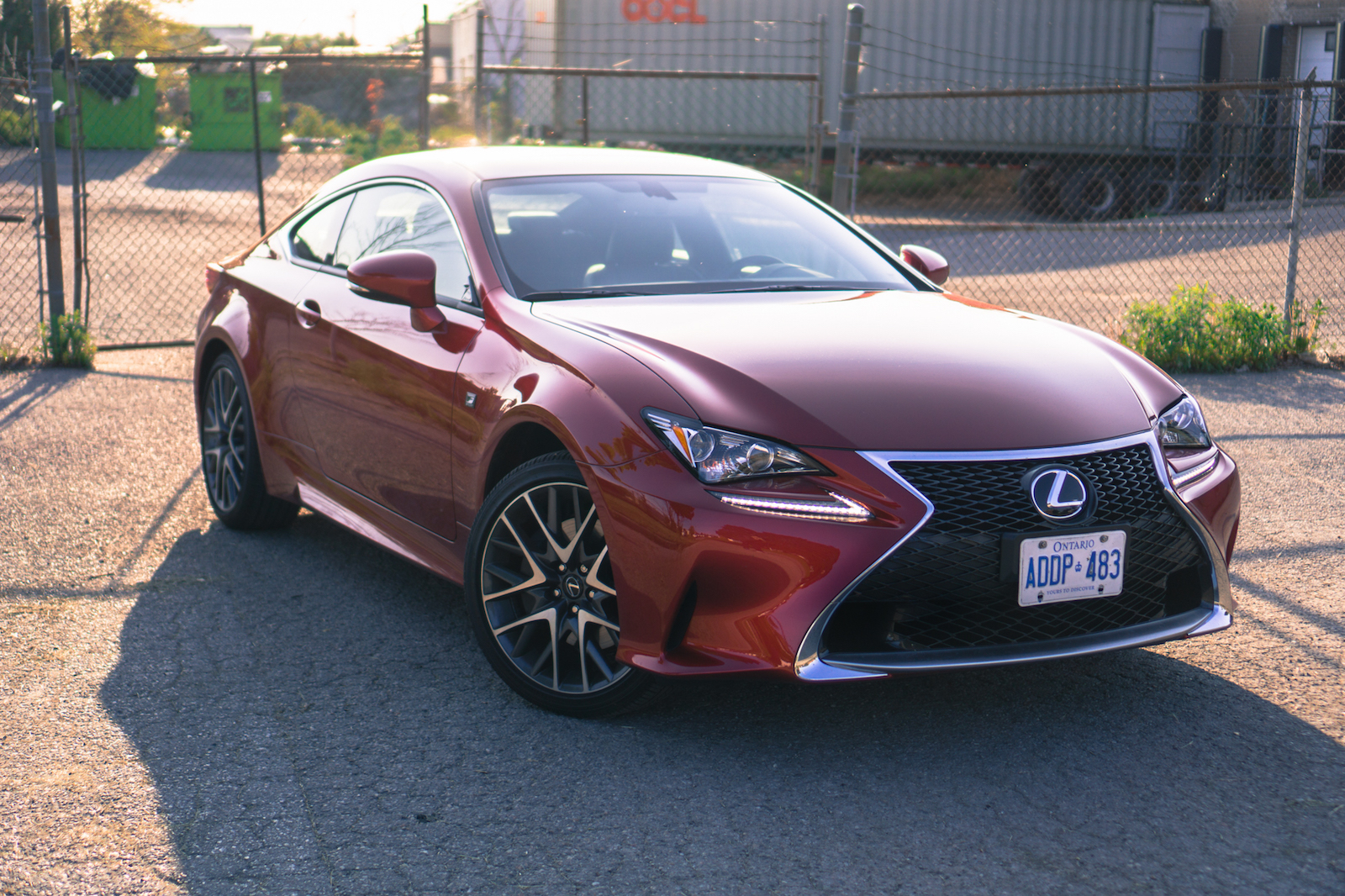 review 2016 lexus rc 300 awd canadian auto review. Black Bedroom Furniture Sets. Home Design Ideas