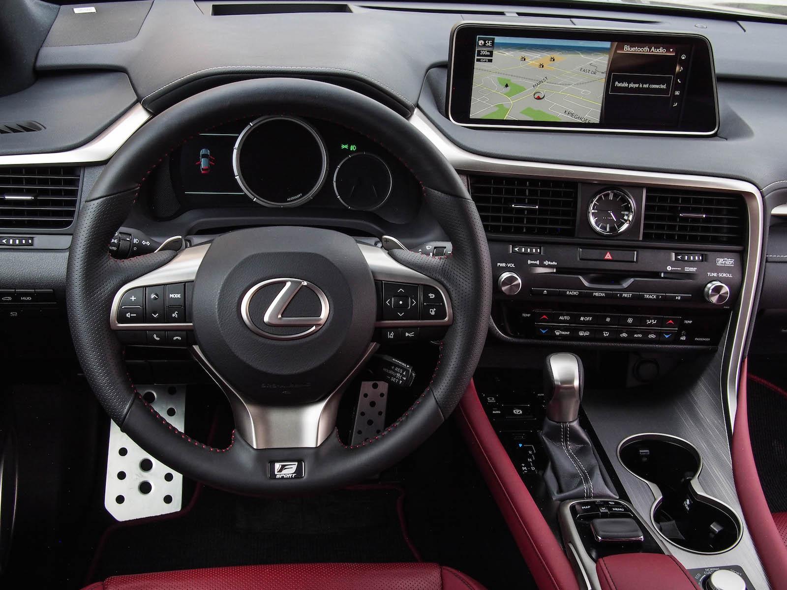 2016 lexus rx 350 f sport canadian auto review. Black Bedroom Furniture Sets. Home Design Ideas