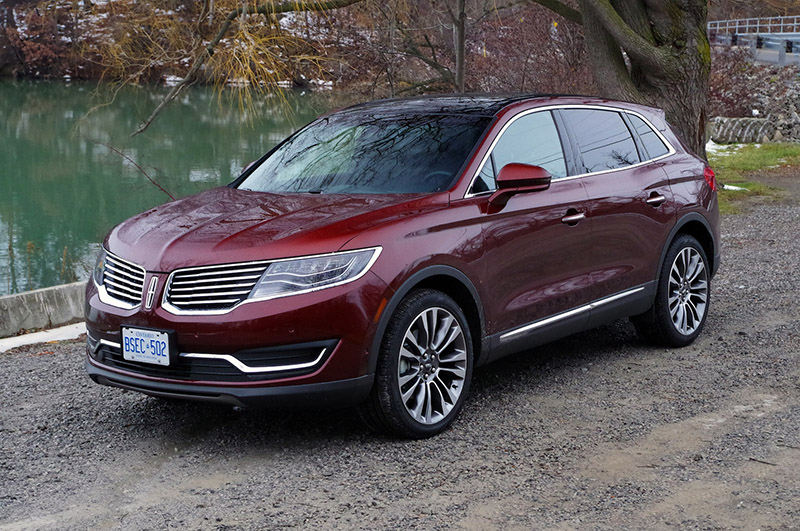 Elegant Review 2016 Lincoln MKX  Canadian Auto Review