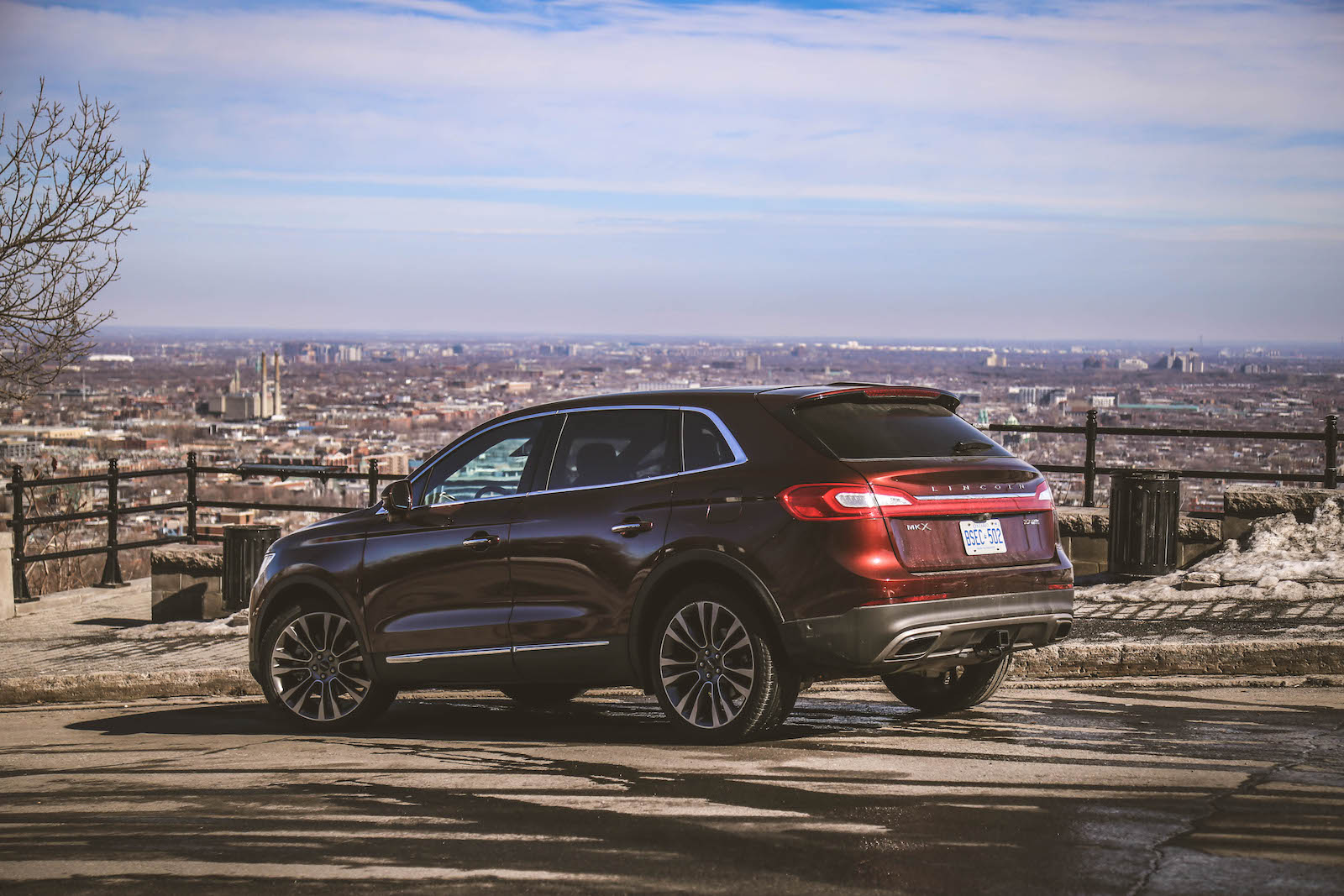 Road trip to montreal in a 2016 lincoln mkx canadian Lincoln motor company canada