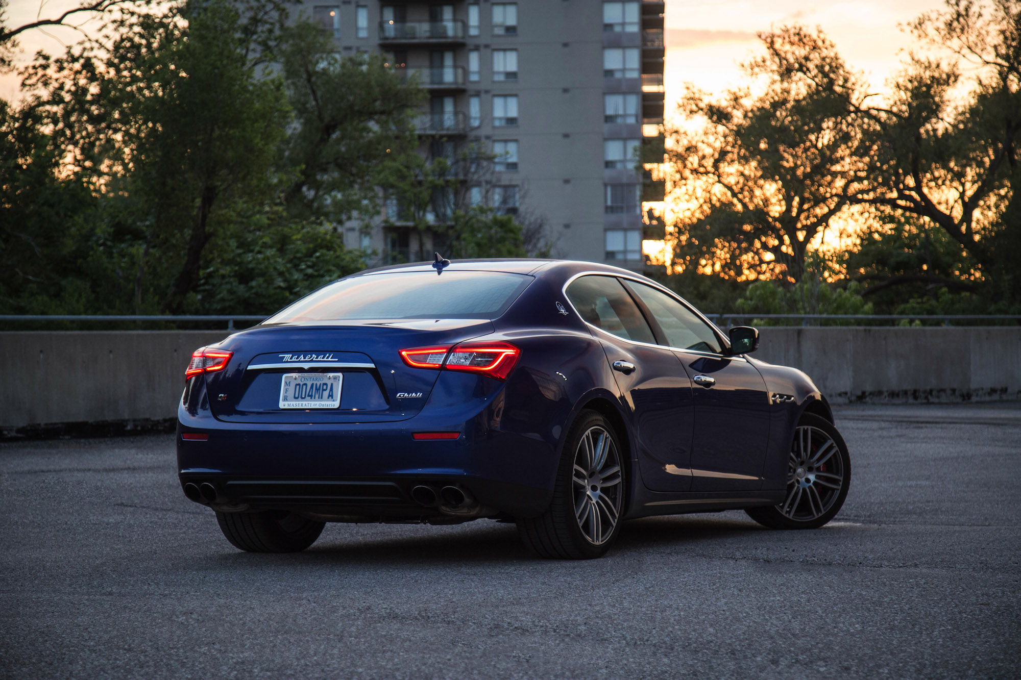 review 2016 maserati ghibli s q4 canadian auto review