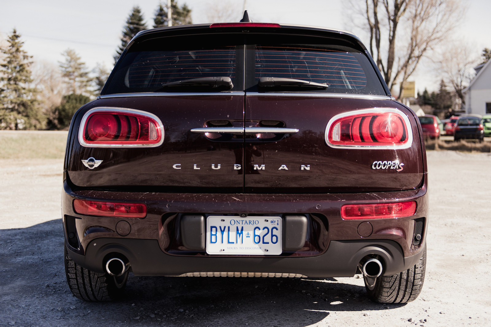 review 2016 mini cooper s clubman canadian auto review. Black Bedroom Furniture Sets. Home Design Ideas