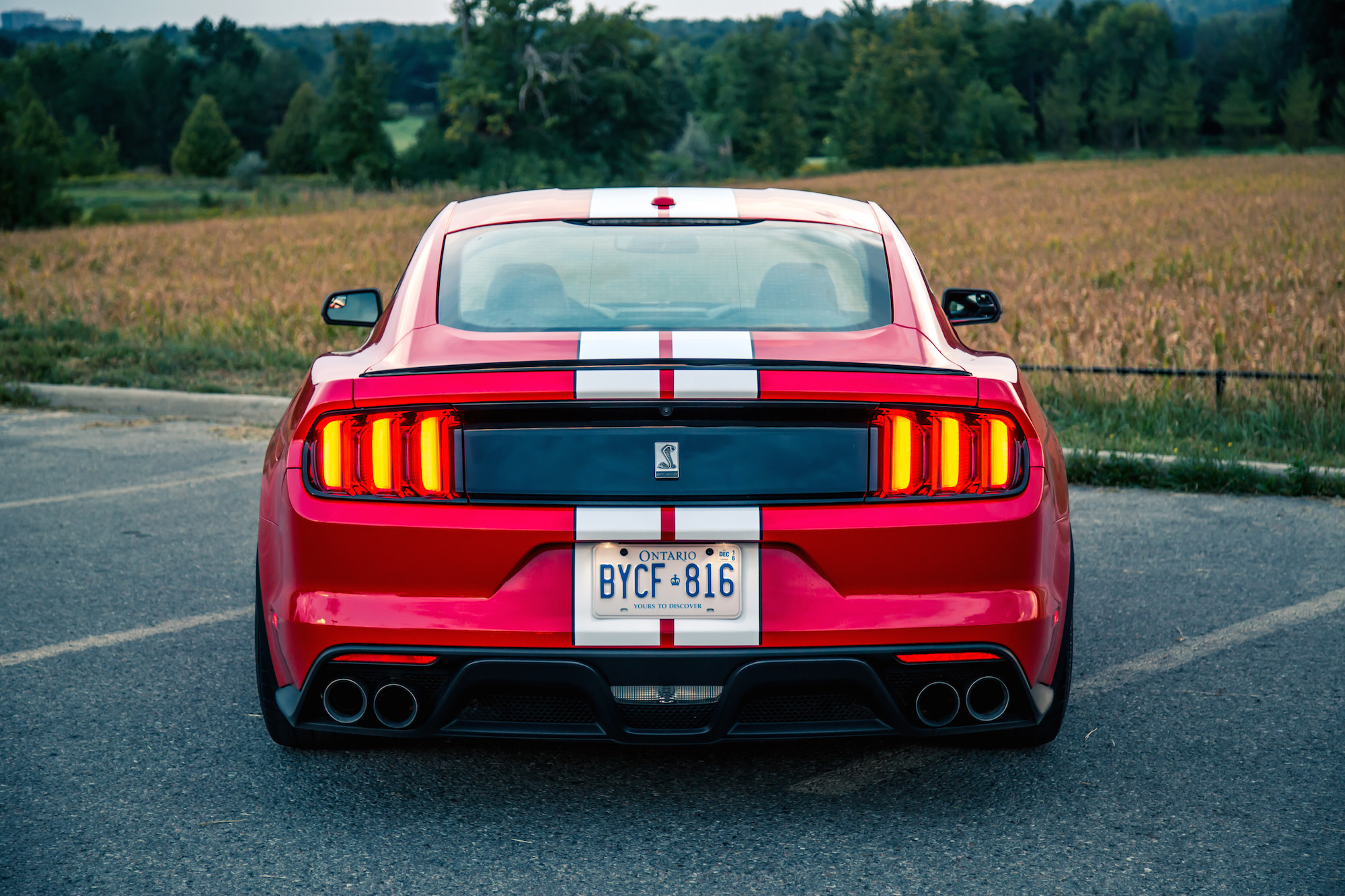 Ford Race Red >> Exhaust Notes: 2016 Ford Shelby GT350 | Canadian Auto Review