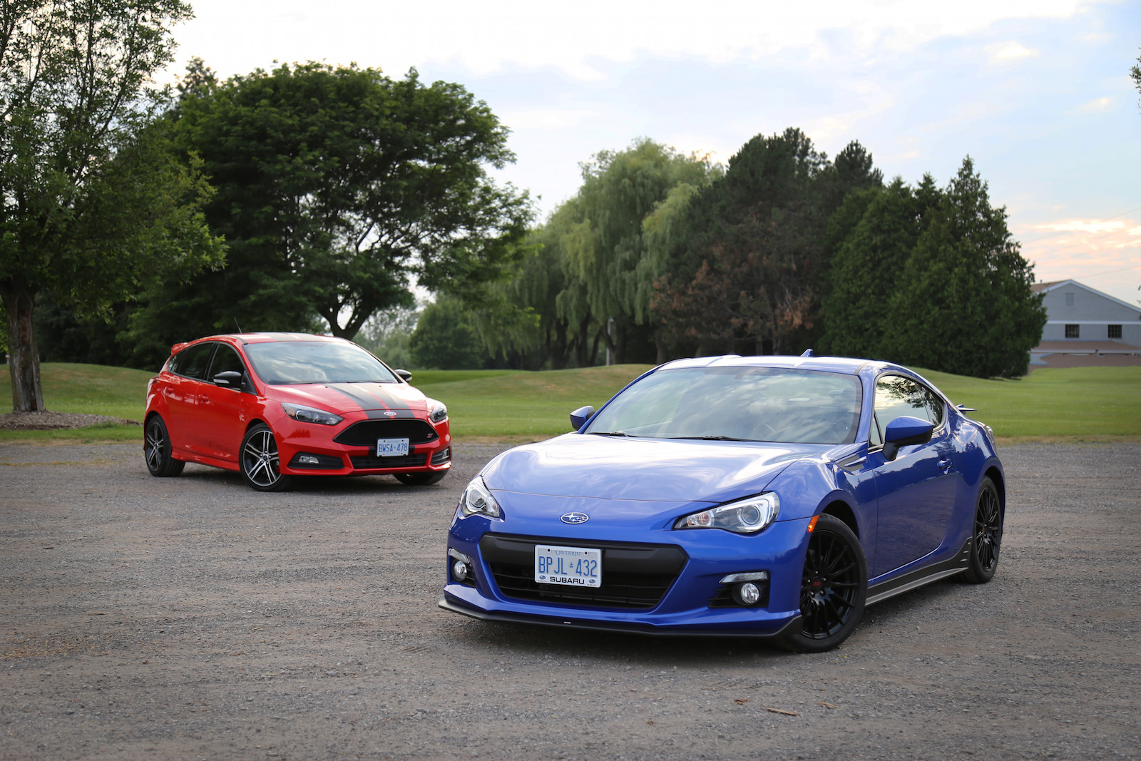 Brz vs focus st review