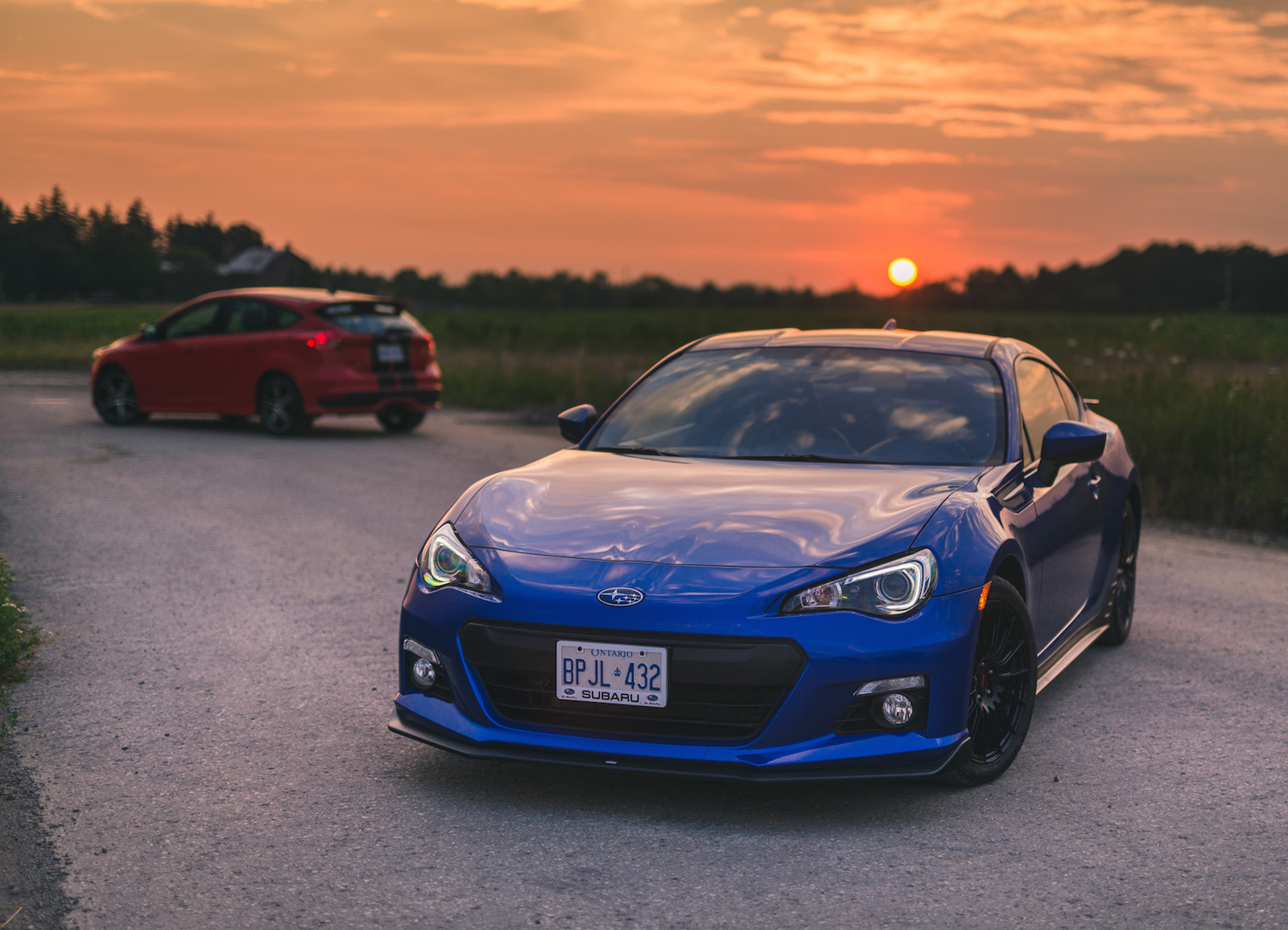 Comparison Review: 2016 Subaru BRZ vs. 2015 Ford Focus ST ...