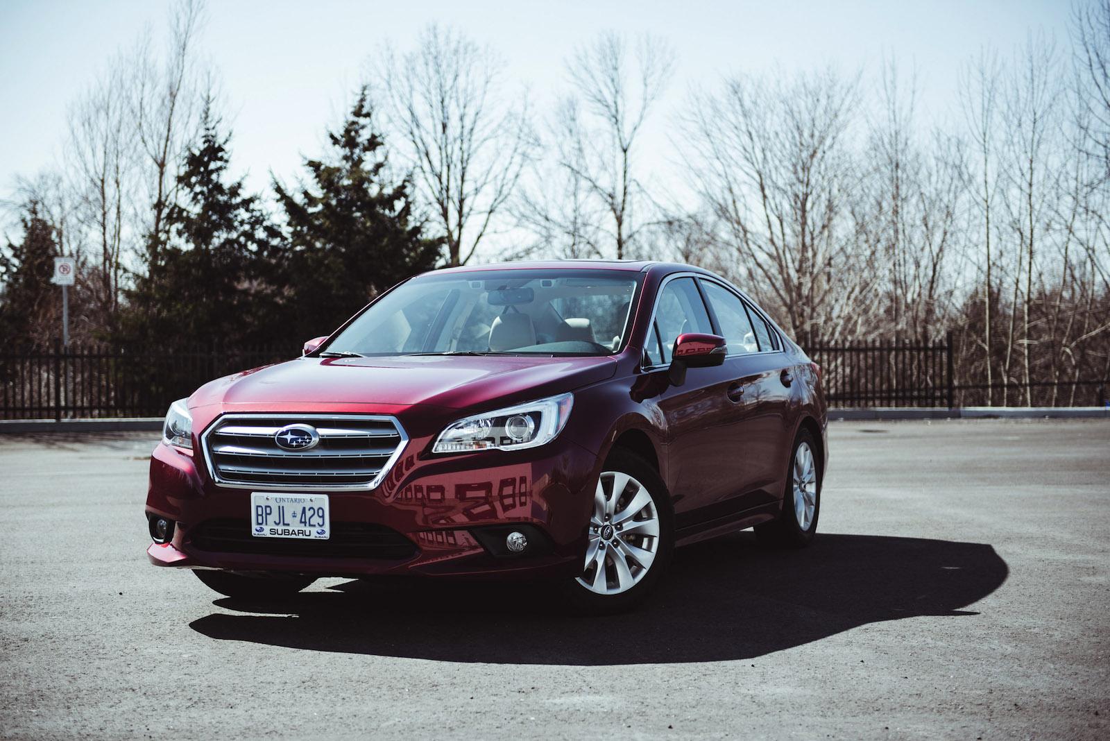 Subaru Legacy: Canada-spec. models