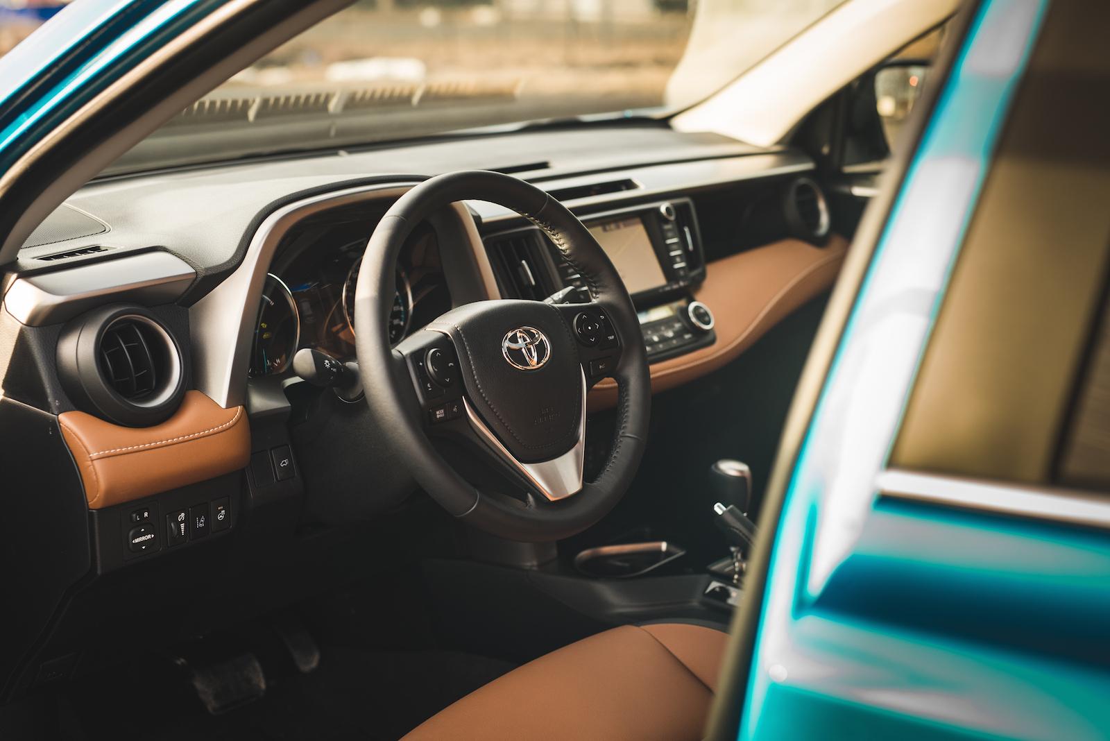 Rav4 Hybrid Tires Rav4 Hybrid Brown Interior ...