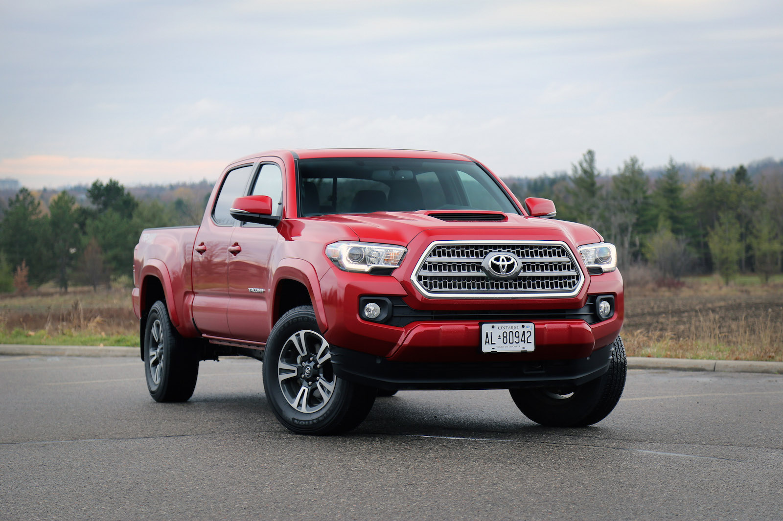 cab tacoma toyota trd double automatic off road bed new detail