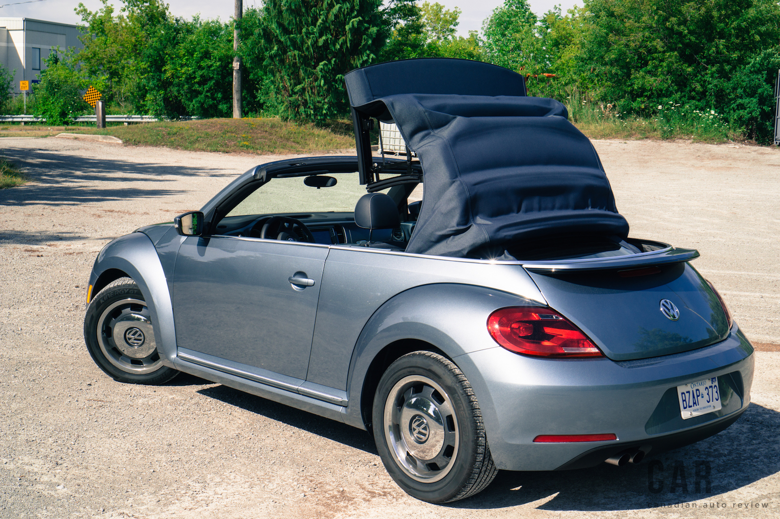 review  volkswagen beetle denim convertible canadian auto review