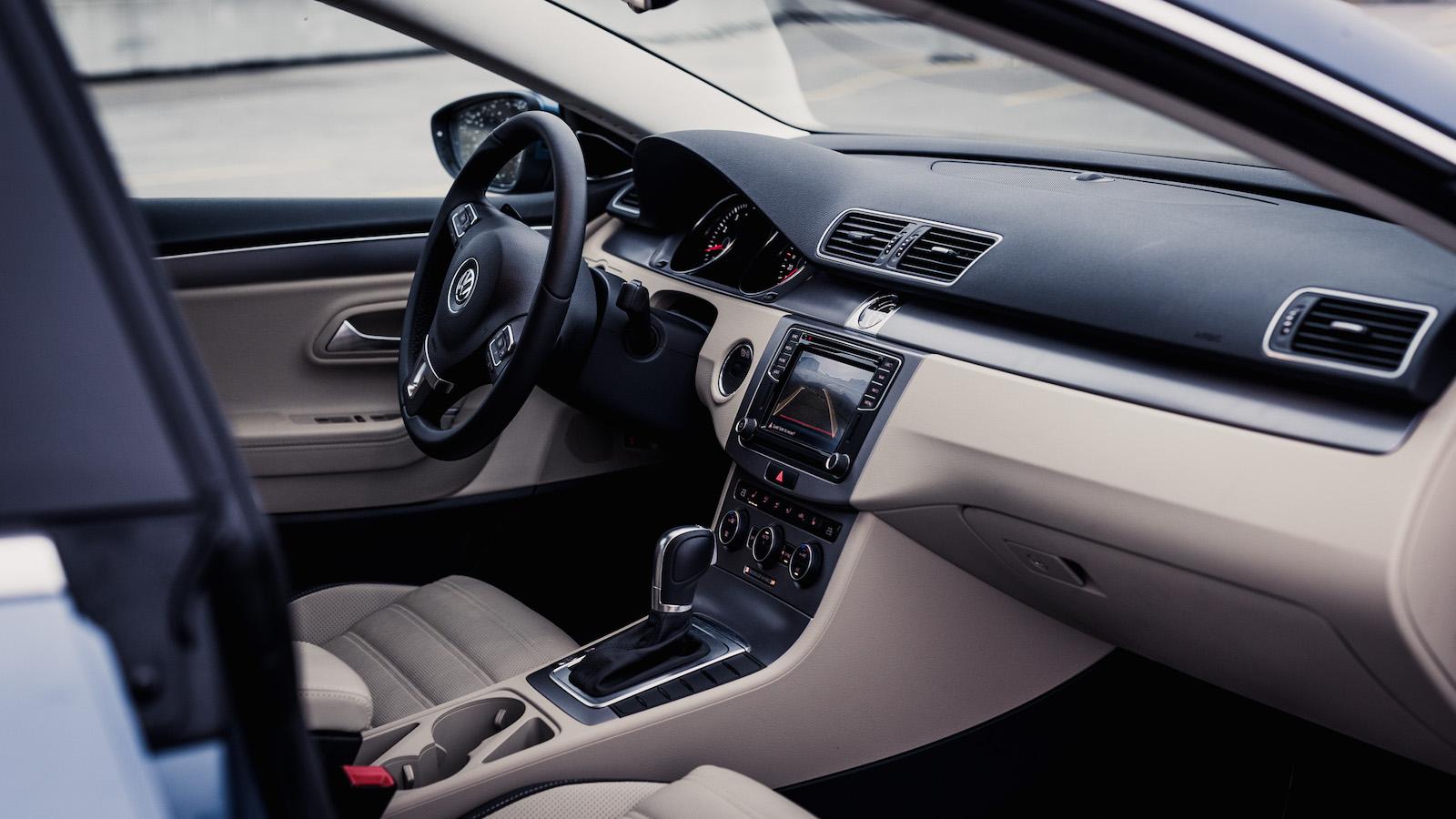 sedan seat notebook volkswagen editors limited automobile interior cc magazine lux front vw luxury news