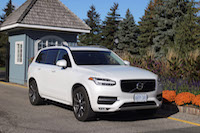 volvo xc90 front view