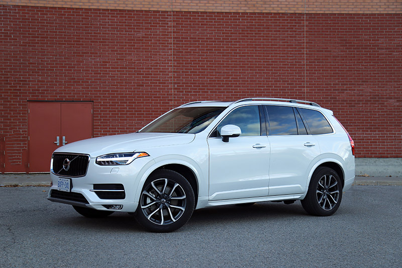 2016 volvo xc90 momentum canada review