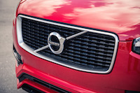 Volvo XC90 R-Design front grill mesh