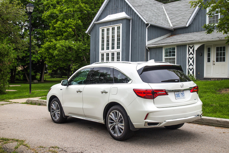 2017 Acura MDX Sport Hybrid electric car honda