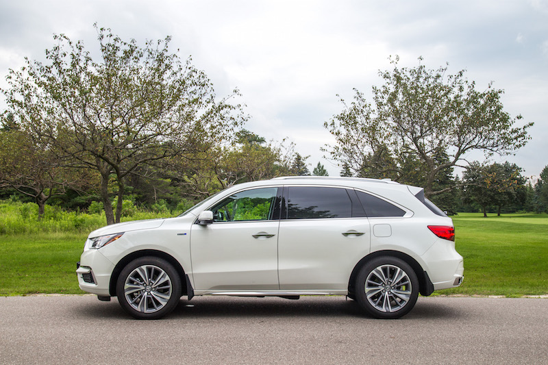 2017 Acura MDX Sport Hybrid side view