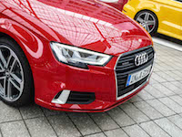 2017 Audi A3 front grill new headlights