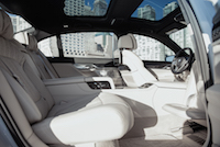 2017 BMW 7 Series executive lounge