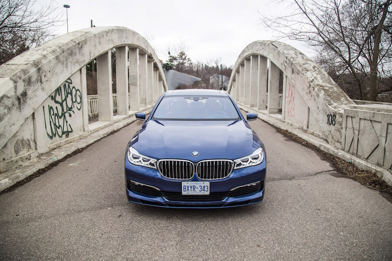2017 BMW Alpina B7 xDrive close up front view