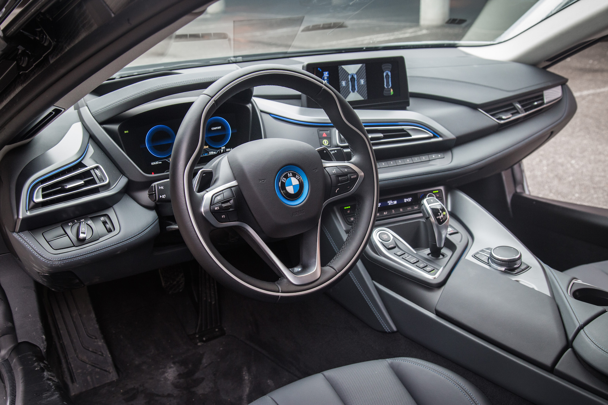 Superior 2017 BMW I8 Carpo Dark Black Interior Leather ...
