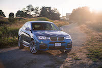 2017 BMW X4 M40i long beach blue
