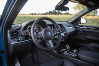 2017 BMW X4 M40i black interior