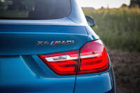2017 BMW X4 M40i taillights rear