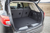 Buick Envision trunk space