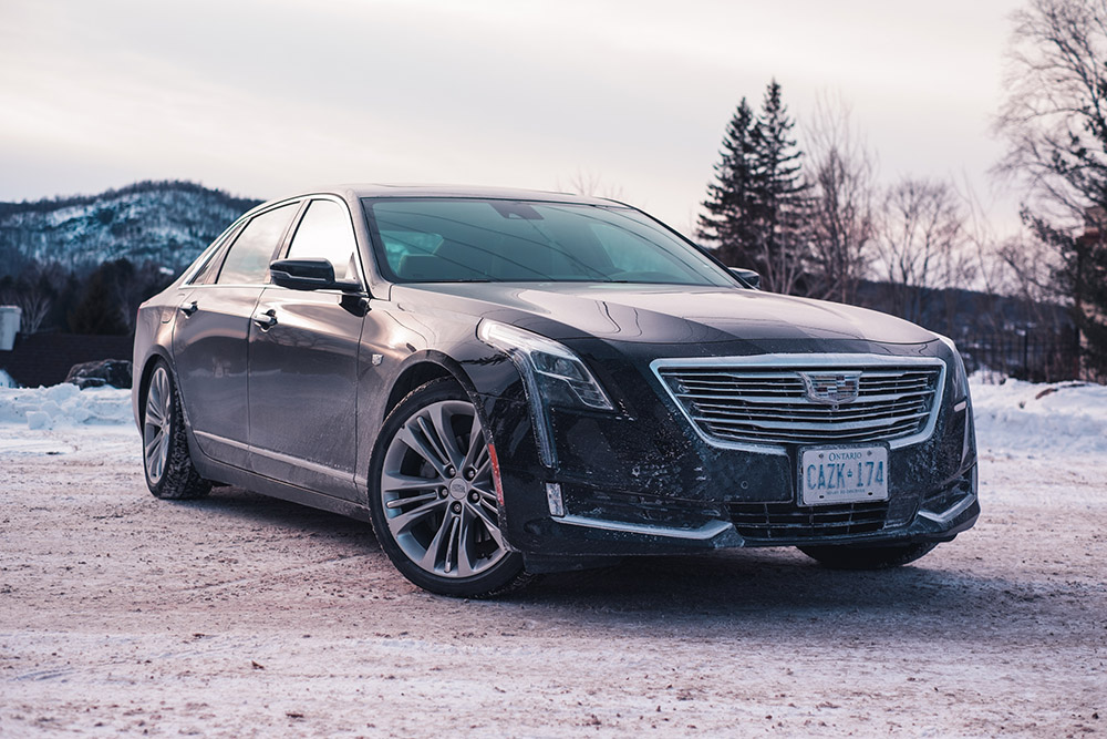 road trip to montreal in cadillac ct6 platinum