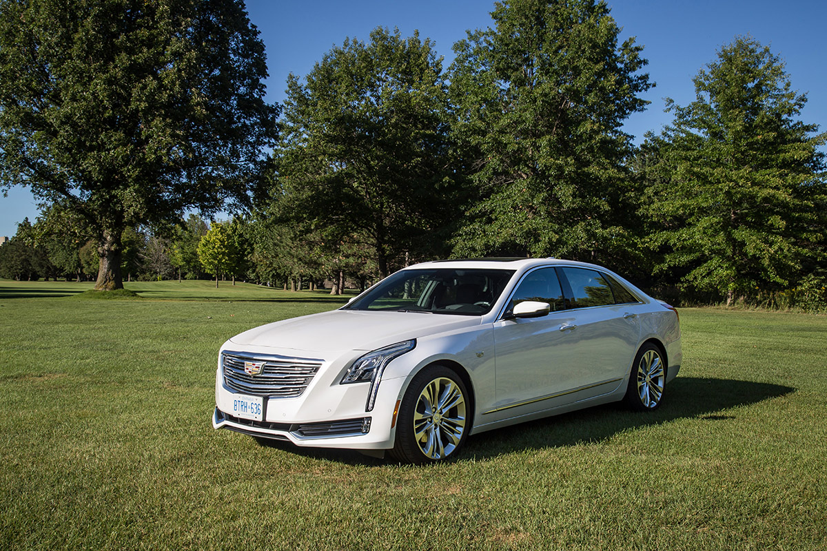 2017 Cadillac CT6 twin turbo platinum review canada