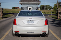 2017 Cadillac CT6 Twin Turbo Platinum rear quad exhaust tips
