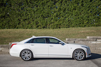 2017 Cadillac CT6 Twin Turbo Platinum side view