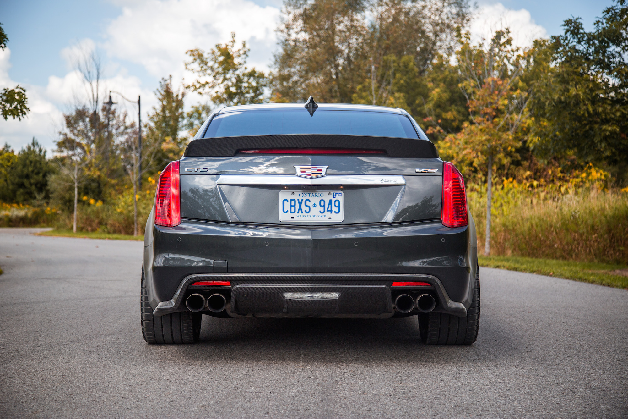 Review 2017 Cadillac Cts V Canadian Auto Review