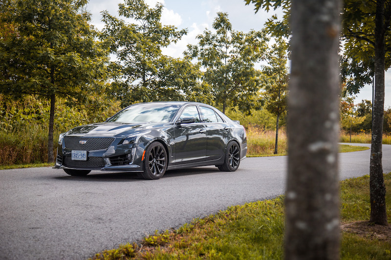 2017 Cadillac CTS-V new for 2017 model year canada