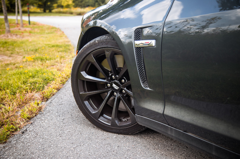 2017 Cadillac CTS-V michelin tires 19 inch