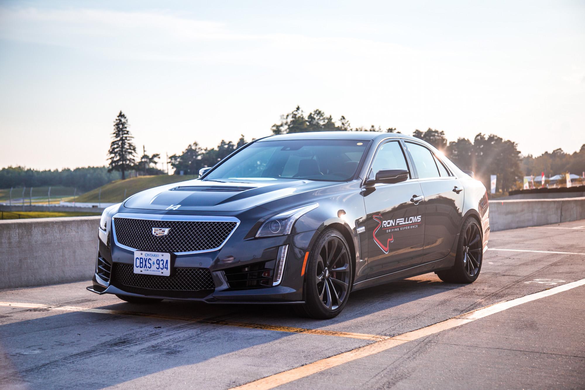 Track Drive: 2017 Cadillac ATS-V and CTS-V | Canadian Auto ...