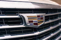 2017 Cadillac XT5 Platinum front badge