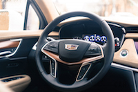2017 Cadillac XT5 Platinum steering wheel