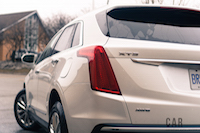 2017 Cadillac XT5 Platinum rear