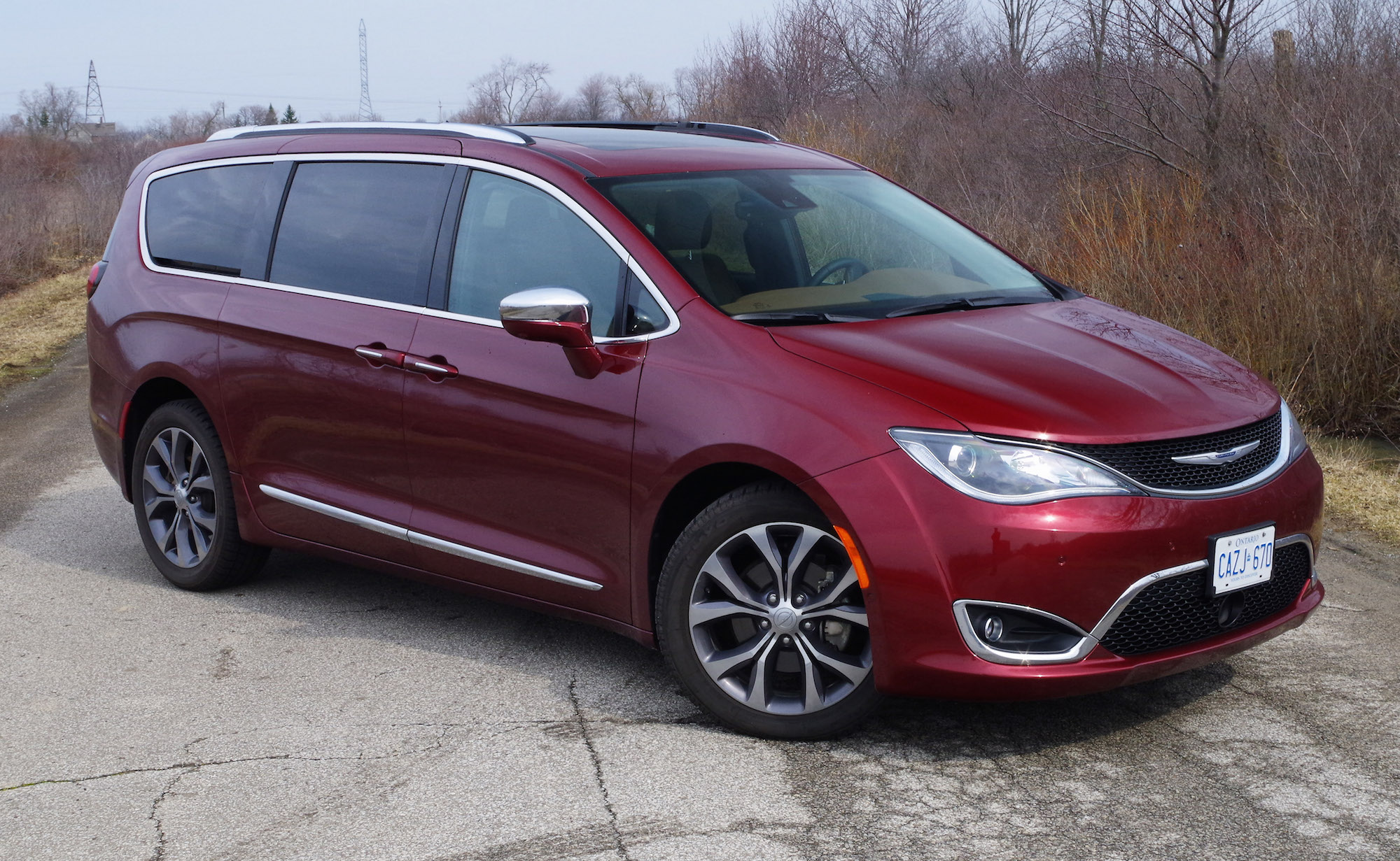 Review: 2017 Chrysler Pacifica Limited   Canadian Auto Review