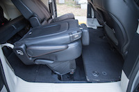 Chrysler Pacifica Touring-L rear seats folding